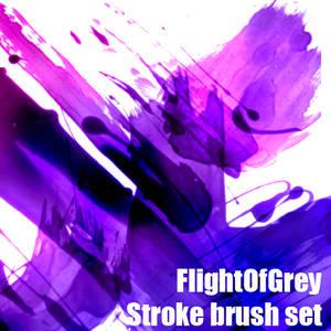 FlightOfGrey Stroke Brush Set