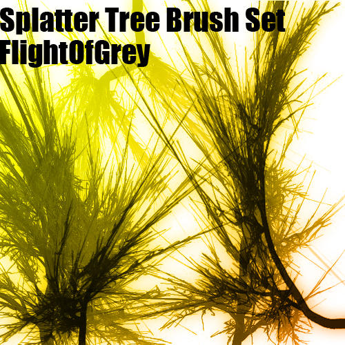Splattertree Brush Set by FlightOfGrey