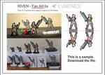 Riven Fan Art Paper Miniature