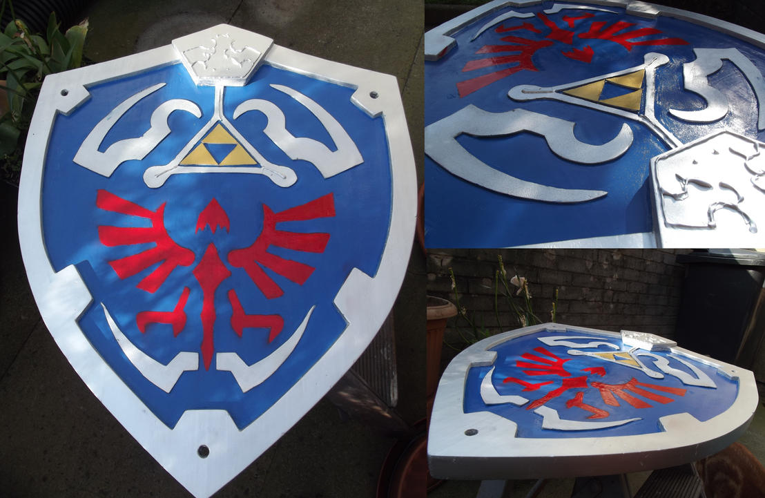 Tutorial: Twilight Princess Hylian Shield by LinkyLex