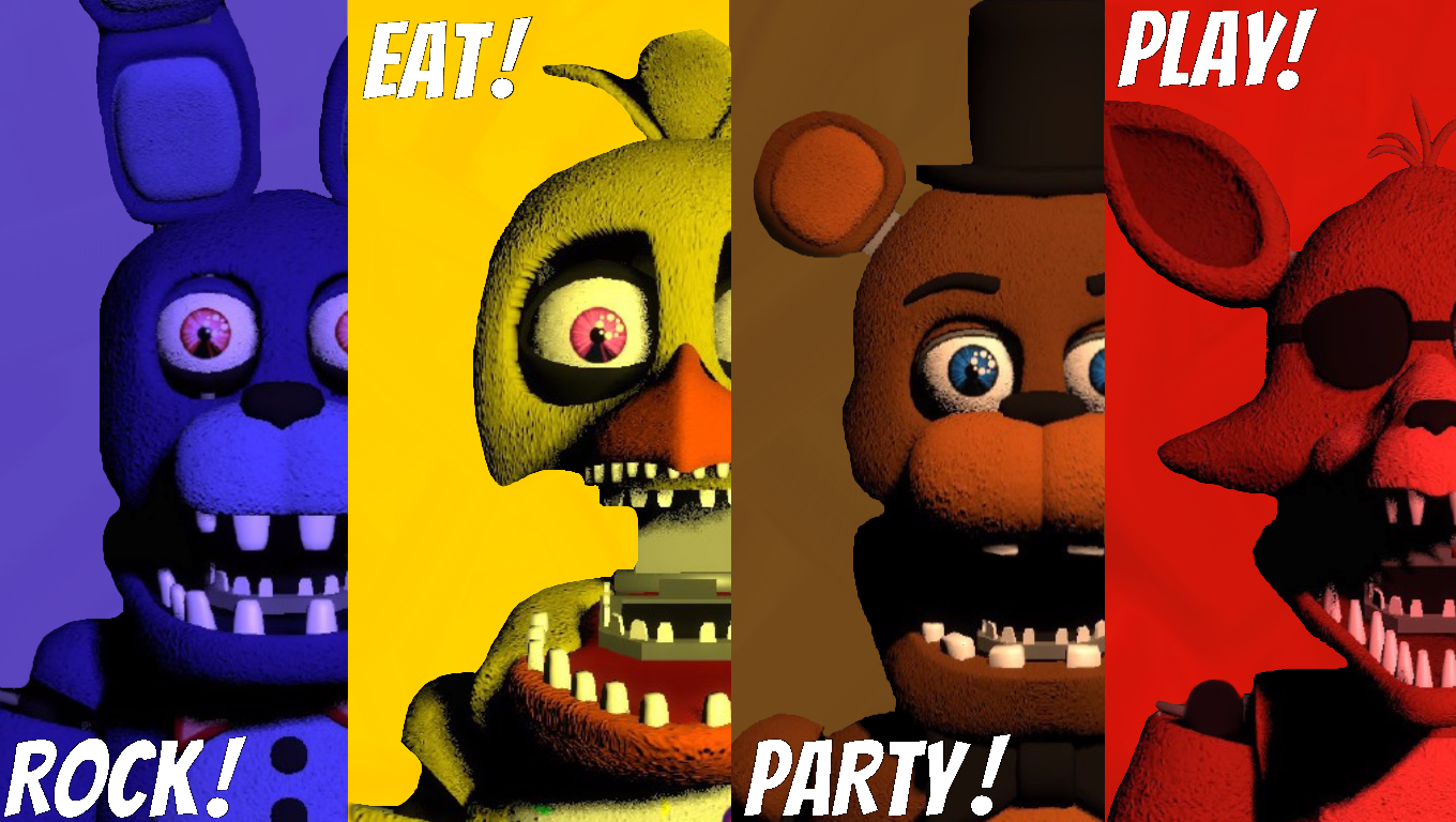 fredbear s family diner rock eat party play by drooodlemew on