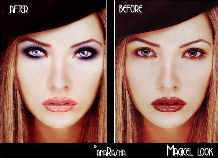 Magicel_look_tutorial by anaRasha