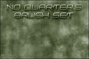 No Quarter's Brush set 1 by N-Q