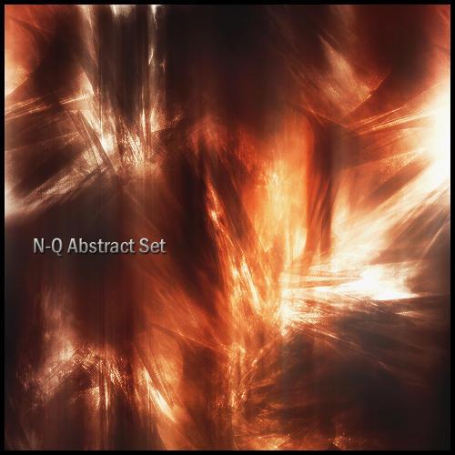 N-Q Abstract Brush Set 2 by N-Q