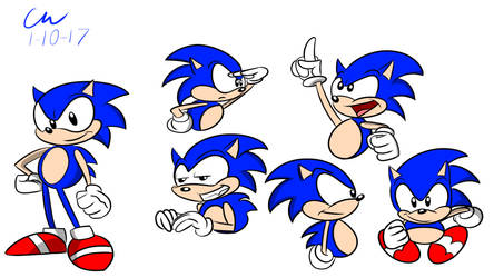 Sonic Doodles by CHCHcartoons