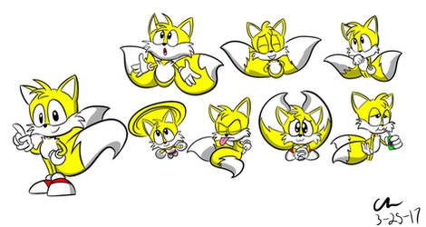 Tails Doodles by CHCHcartoons