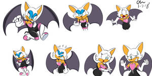 Rouge Doodles by CHCHcartoons