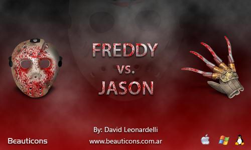Freddy vs Jason by seifito