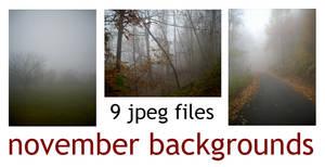 9 NOVEMBER BACKGROUNDS