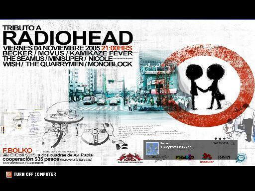 RadioHead by angryjesus