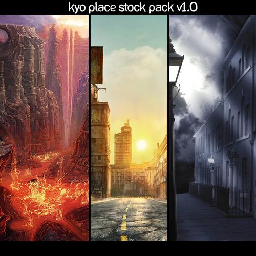 Kyo Place Stocks V1 by magoshadow