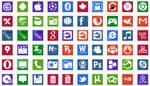 - Icons metro style -