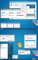 Windows 8 RP+RTM - Theme for Windows 7 by Rammist