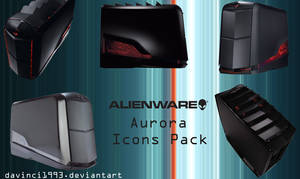 Alienware Aurora Icons pack