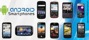 Android Smartphones Icon Pack