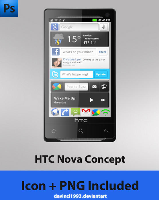 HTC Nova Concept by davinci1993