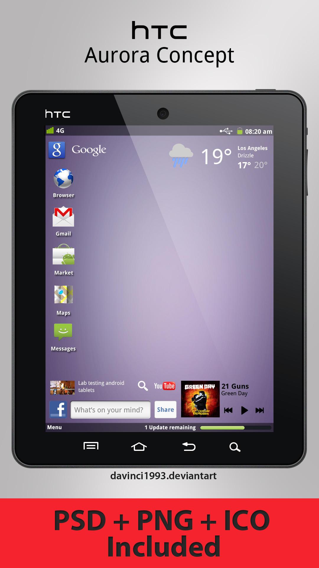 HTC Aurora Concept by davinci1993