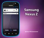 Samsung Nexus Z: PSD + PNG + ICO