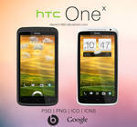 HTC One X: PSD | PNG | ICO | ICNS