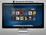 Apple Thunderbolt Display: PSD | PNG | ICO | ICNS
