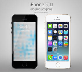 Apple iPhone 5S: PSD | PNG | ICO | ICNS