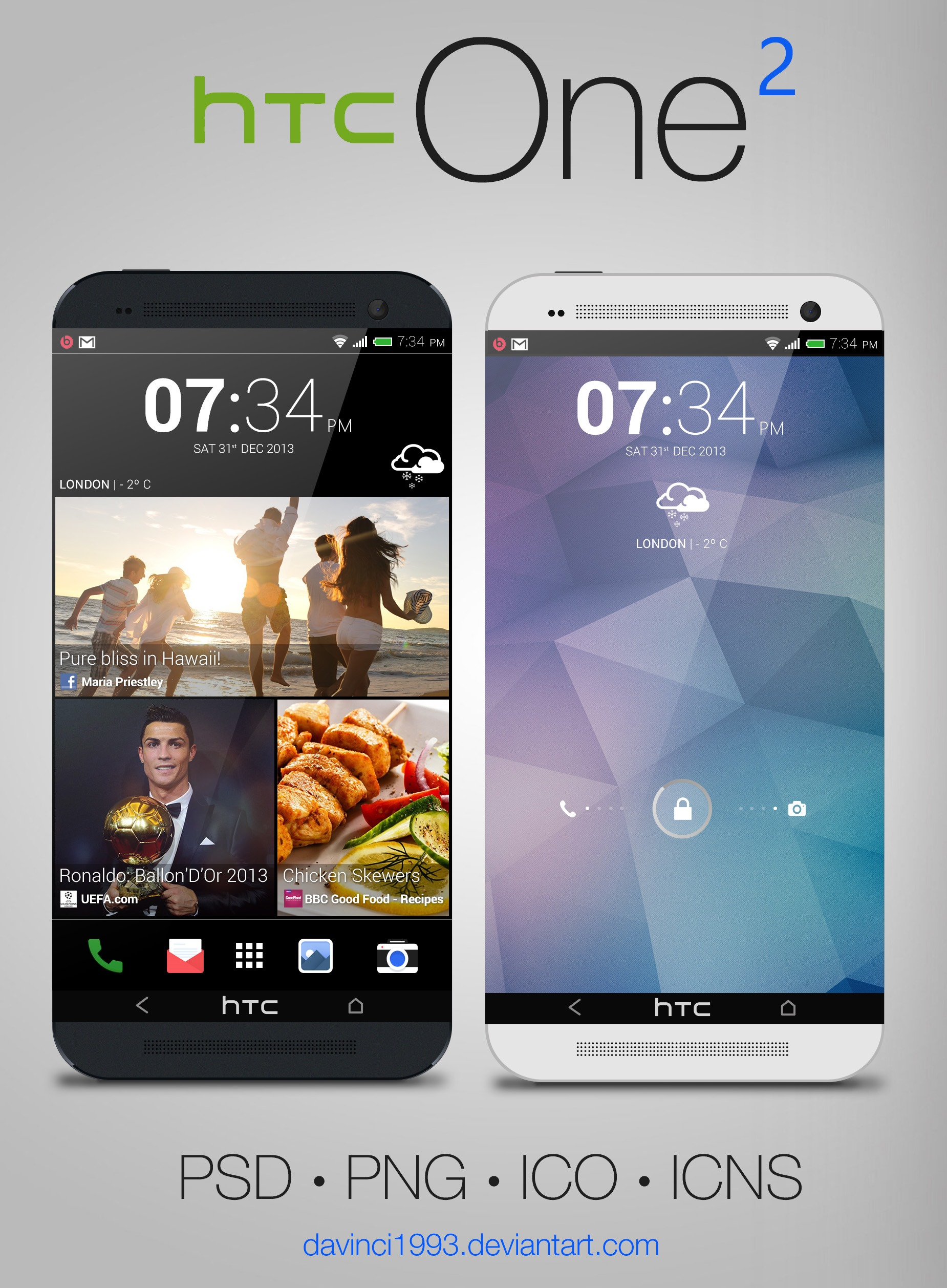 HTC One 2 (Sense 6) by davinci1993