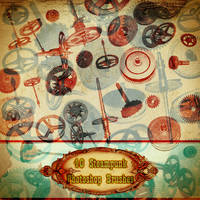 Steampunk Brushes VOL 1 by AsunderDigital
