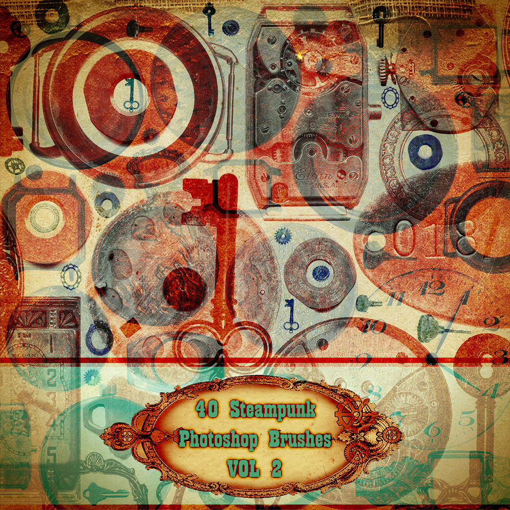 Steampunk Brushes VOL 2