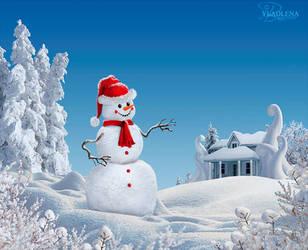 To visit Santa by Vladlena111