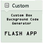 Custom Box Background Code Generator v1.9.2 (last) by NAkos