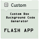 Custom Box Background Code Generator v1.9.2 (last)