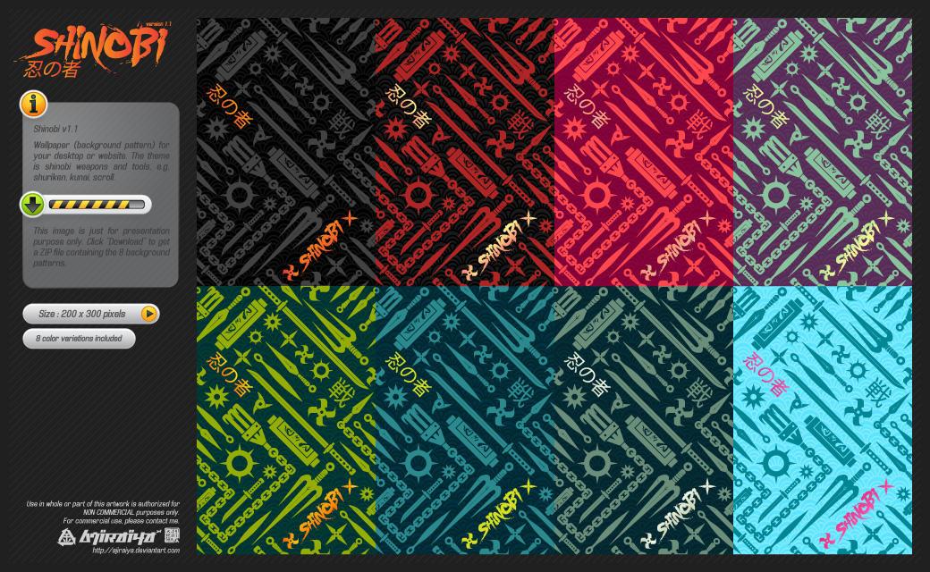 Wallpaper : Shinobi v1.1 by ajiraiya