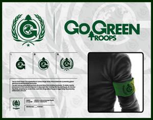 CR - Go Green Troops - Logo