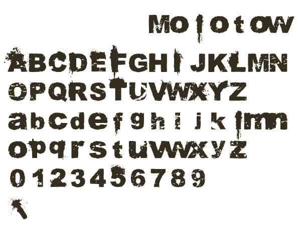 Molotow Font by Nimpscher