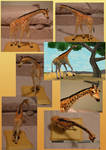 Zoo Tycoon Paper Collection - Reticulated Giraffe