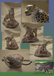 Zoo Tycoon Paper Collection - Snow Leopard