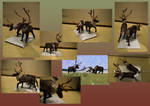 Zoo Tycoon Paper Collection - Caribou