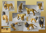 Zoo Tycoon Paper Collection - Lion