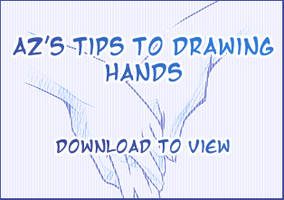 Az's Tips to Drawing Hands