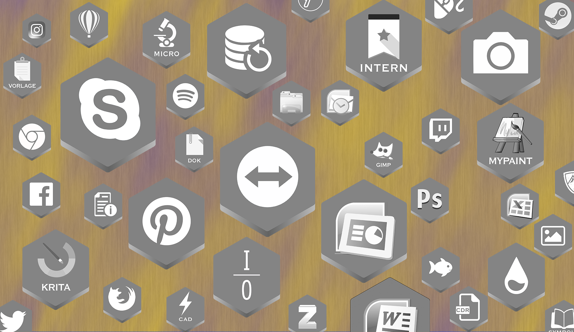 Honeycomb IconPack I