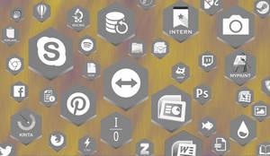 Honeycomb IconPack I