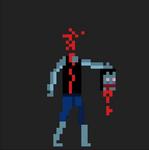 Headless Zombie Pixel Animation