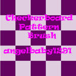 Checkerboard Brushes by angelbaby1291