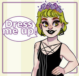 Dress Up Game - Del by HetteMaudit