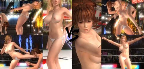 Kasumi Vs Tina - Bikini Brawl by 3DFiteClub