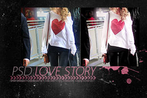 lovestoryPSD. by spontaneoustyle