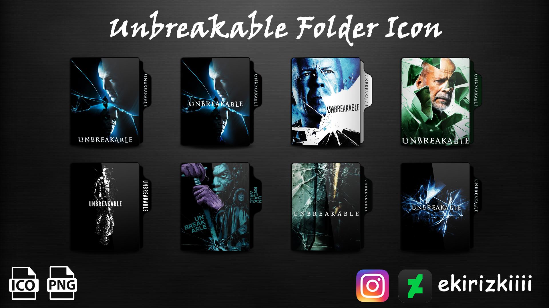 Unbreakable 2000 Folder Icon By Ekirizkiiii On Deviantart