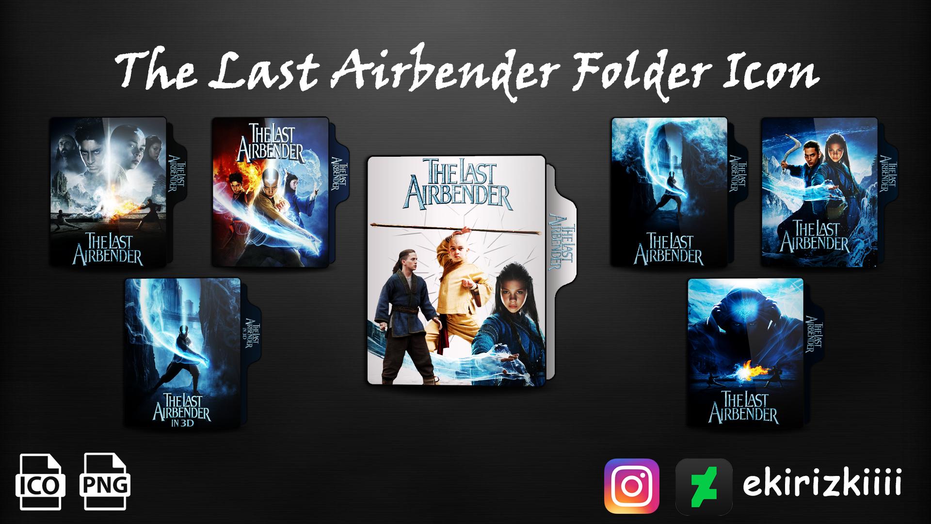 The Last Airbender 2010 Folder Icon By Ekirizkiiii On Deviantart