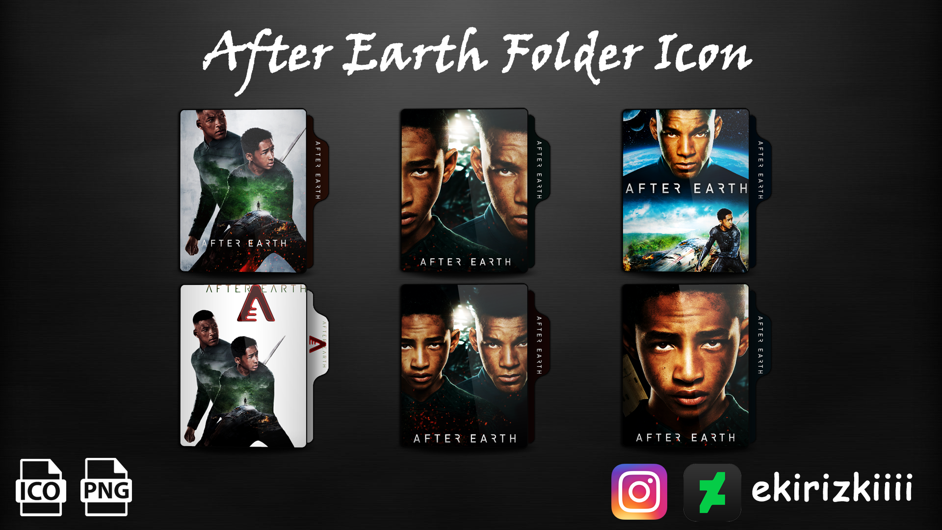 After Earth 2013 Folder Icon By Ekirizkiiii On Deviantart