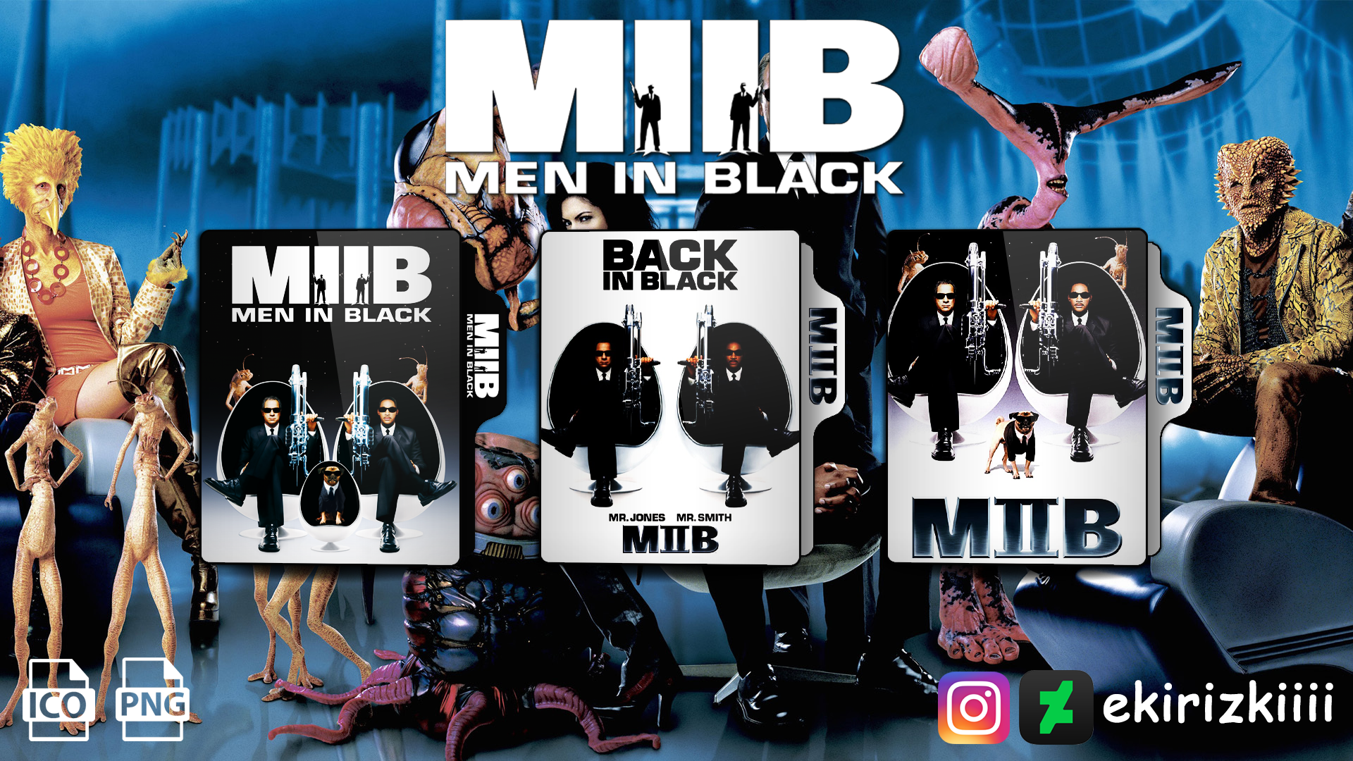 Men In Black Ii 2002 Folder Icon By Ekirizkiiii On Deviantart